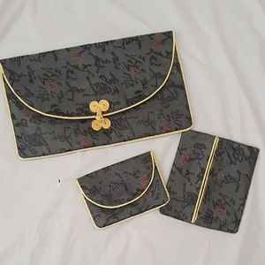 Handbags - Chinese calligraphy brand new wallet set